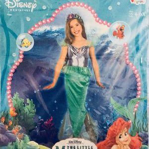 Disney Special Edition ARIEL Costume Girls 4-6X